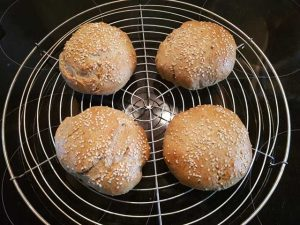 Burger Buns - Ready to Grill