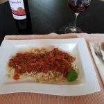 Sauce Bolognese mit Nudeln